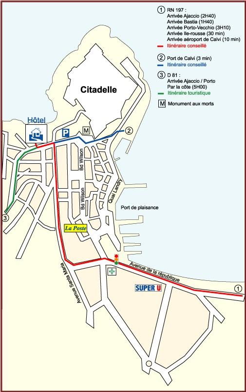Port ou aéroport Ste Catherine de Calvi