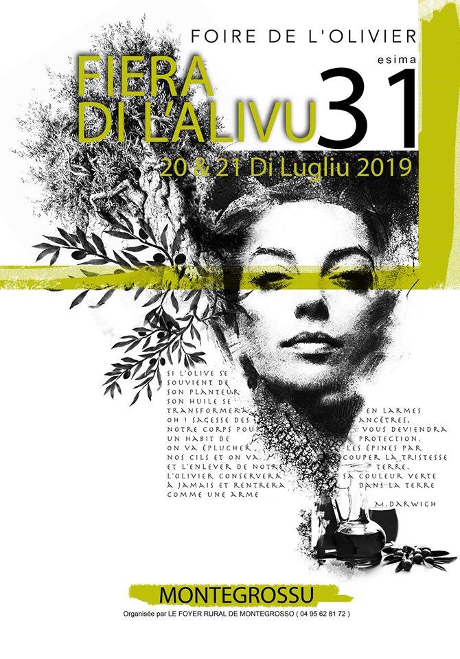 Fiera di l'Alivu - 17 et 18 juillet 2021 à Montemaggiore