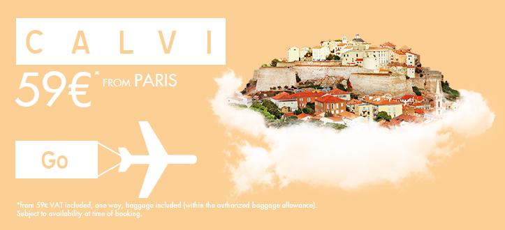 ASL Airlines : une nouvelle ligne Paris Calvi idéale pour les week-ends