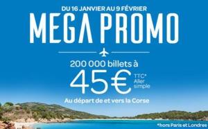 Air corsica : billets avion pour Calvi en super promo
